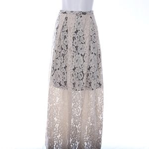 Free People High Waist Maxi Skirt Floral 6
